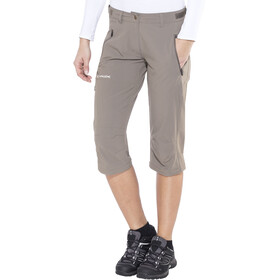 VAUDE Farley II Pantalon convertible Stretch zippé Femme, coconut